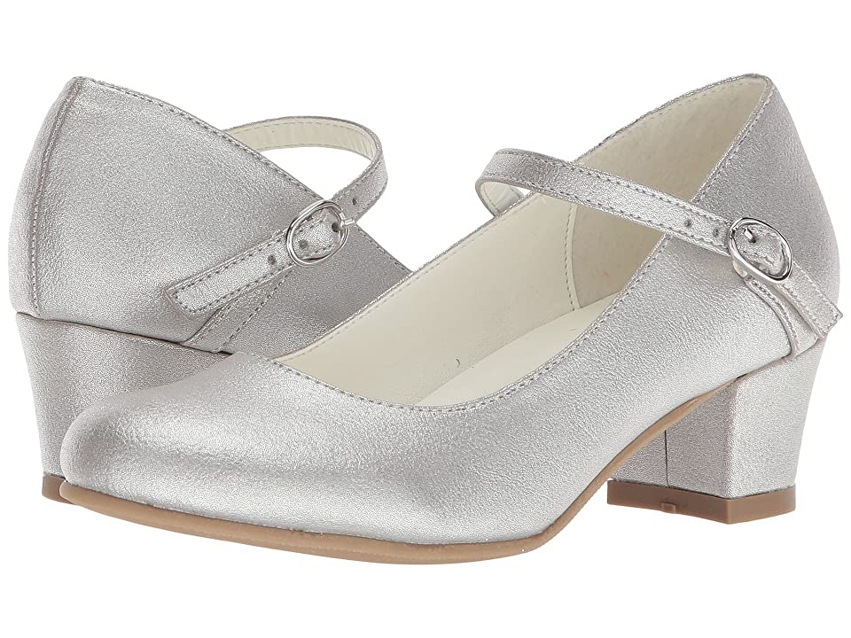 Amiana 6-A0924 (Toddler/Little Kid/Big Kid/Adult) (Silver Pearl PU) Girl