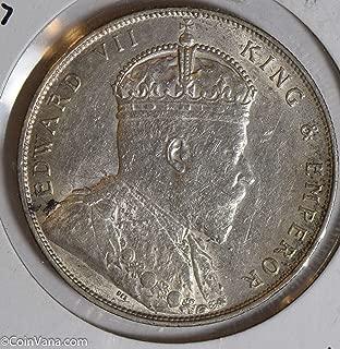 1907 IE S0225 Straits Settlements Dollar lustrous silver DE PO-01
