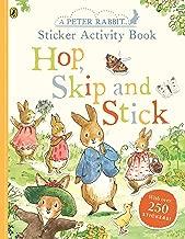Peter Rabbit Hop, Skip, Stick Sticker Activity