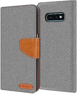 Verco Hoesje voor Samsung Galaxy S10e Book Case, Wallet Flip Case compatibel met Samsung S10e Telefoonhoes met Kaarthouder...
