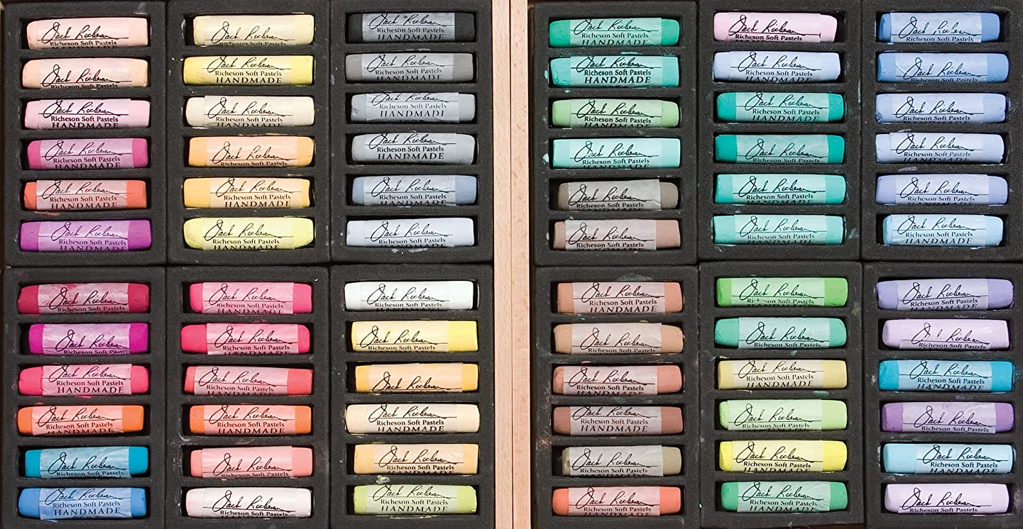 Jack Richeson Riches on Signature Set of 72 Assorted Handmade Soft Pastels