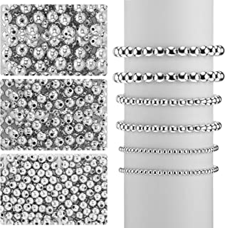 Silver plated charms FINDINGS 100 pcs Beaded jewelry supplies silver beads Silver metal bracket Brackets metal bead spacers