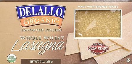 Delallo, Pasta de Semola Integral Organ, 255 gramos