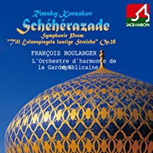 Symphonic Suite ''Scheherazade'', Op. 35: 4. Festival at Bagdad, the Sea, The Ship is Wrecked on a Rock Surmounted by a Bronze Warrier, Conclusion