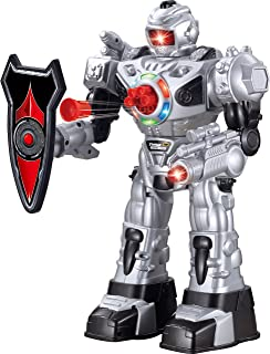 Think Gizmos Large Remote Control Robot for Kids – Superb Fun Toy RC Robot – Remote Control Toy Shoots Missiles, Walks, Ta...