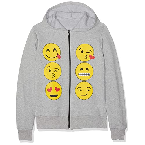 d421642111d4 Kids Emoji Emoticons Smiley Faces Long Sleeve Hoodies Tops Girls Age New  5-13 Y
