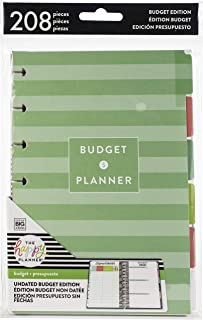 happy planner mini budget extension