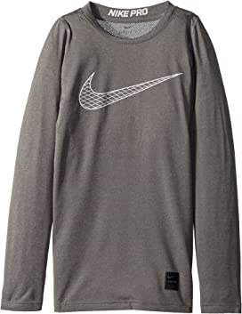 52e475cdd Nike Kids Pro Fitted Short Sleeve Training Top (Little Kids/Big Kids ...