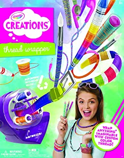 Crayola Creations Thread Wrapper Cy04-0261 Crafts Game, One size Other