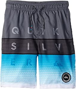 Quiksilver Kids Word Block Volley Shorts (Toddler/Little Kids)