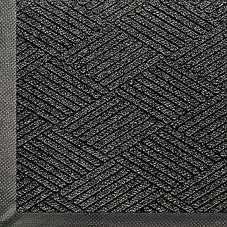 WaterHog Eco Commercial-Grade Entrance Mat, Indoor/Outdoor Black Smoke Floor Mat 6' Length x 4' Width, Black Smoke by M+A ...