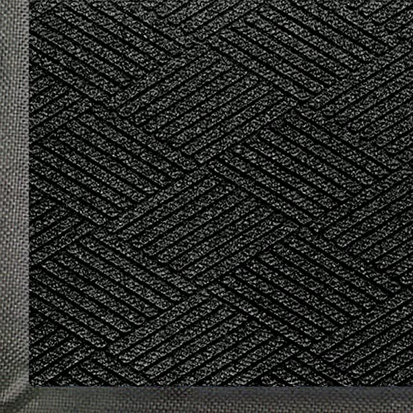 WaterHog Eco Commercial Grade Entrance Mat Indoor Outdoor Black Smoke Floor Mat 6 Length X 4 Width Black Smoke By M A Matting