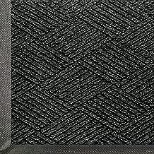 WaterHog Eco Commercial-Grade Entrance Mat, Indoor/Outdoor Black Smoke Floor Mat 10' Length x 3' Width, Black Smoke by M+A Matting