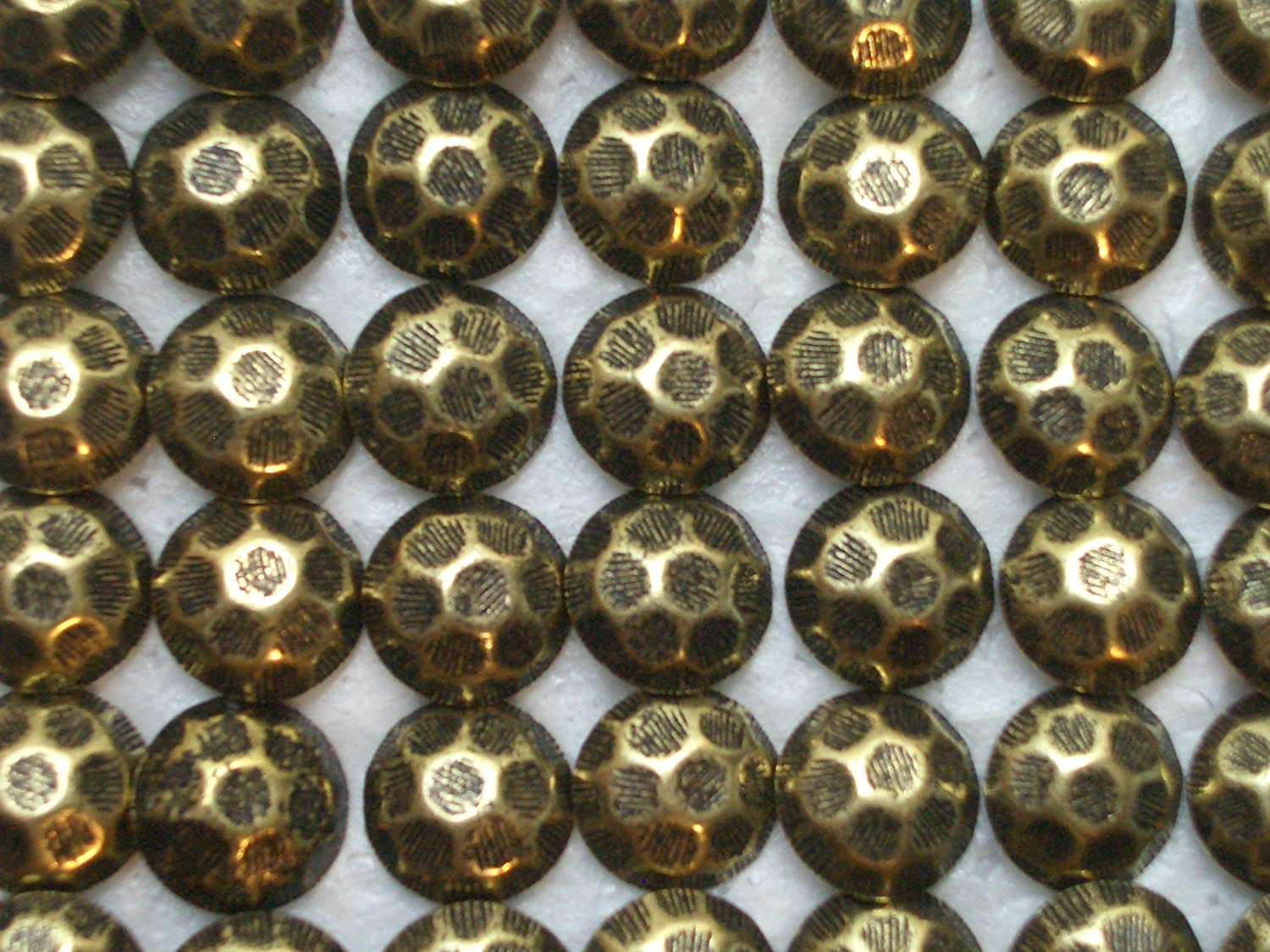 Fixed price for sale Antique New item Brass Oxford Upholstery Tacks Hammered Finish Nails 16 7
