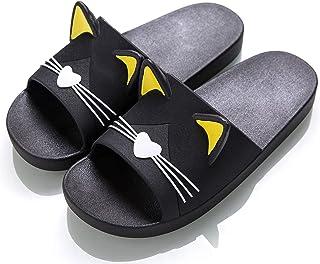 Vunavueya Pantoufles Maison pour Enfants et Adultes Garçon Fille Tongs Chaussons d'été Chaussures de Bain Femmes Hommes Sa...