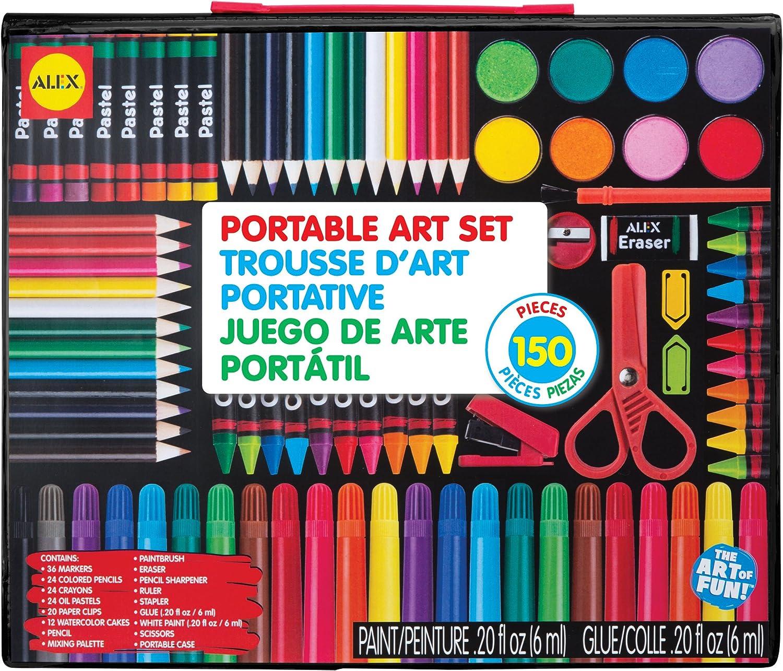 Alex Toys Artist Studio Tragbare Kunst Set mit Tragetasche B00J0U6X66   Qualität und Verbraucher an erster Stelle