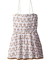 Lace Lame Dress (Toddler/Little Kids)