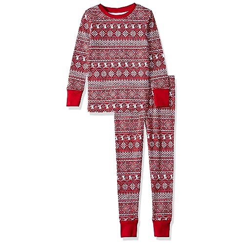 Amazon Essentials Kids  2-Piece Pajama Set 257264277