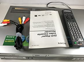 Sony SLV-D251P DVD Player / VCR Combo