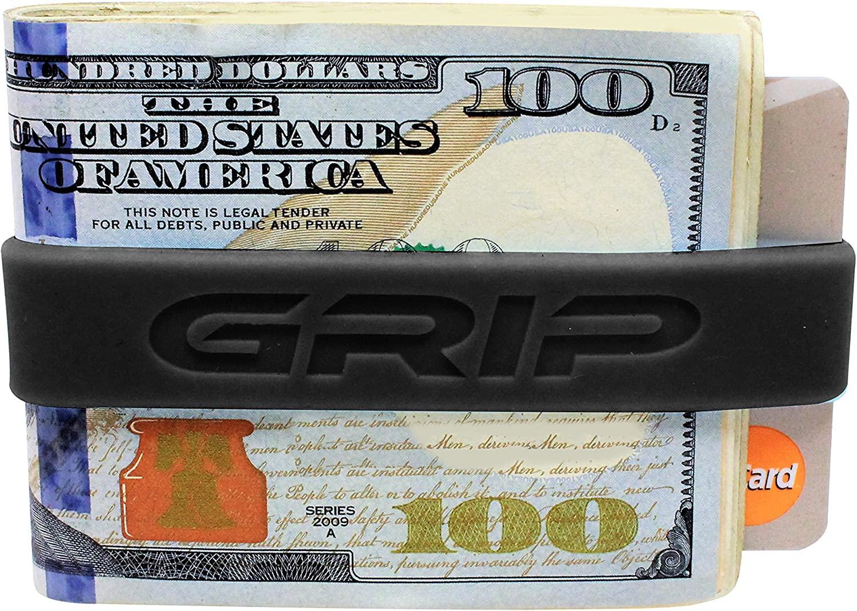 GRIP Money Bands (Set of 3), Minimalist Wallet, Money Clip Alternative