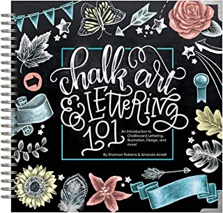 Chalk Art and Lettering 101: An Introduction to Chalkboard L