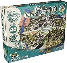Science4you - Excavaciones Fósiles 5 en 1 Juguete Científico y Educativo (399679)
