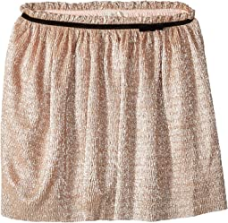 Metallic Knit Skirt (Big Kids)