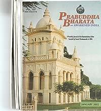 Prabuddha BHARATA , A Monthly Journal of the Ramakrishna Order, FIVE ISSUES, JAN. - MAY., 2002, articles by Huston Smith, Catherine Stone, Swami Bhuteshananda, others