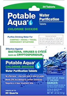 Best water purification tablets ingredients Reviews