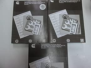 2006 Cummins Troubleshooting and Repair Manual CM2150 ECS ISB ISC ISL ISLe ISDe, and QSB3.3 Engines 3 Volume SET