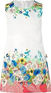 Girls' Mixed Print Jumper Dress