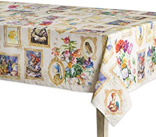 Maison d' Hermine Masterpiece 100% Cotton Tablecloth 54 Inch by 72 Inch