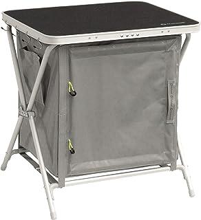 Sets de mobiliario Exterior Aluminio, Negro, Madera, Aluminio, Bamb/ú, Poli/éster Outwell Marilla