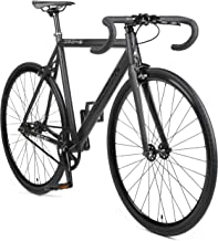 Retrospec Drome V3 Fixed-Gear Track Bike with Carbon Fork