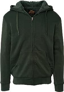 Best men's sherpa lined fleece zip up hoodie Reviews