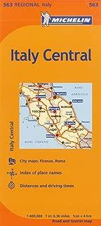 Michelin Italy: Central Map 563 (Maps/Regional (Michelin))