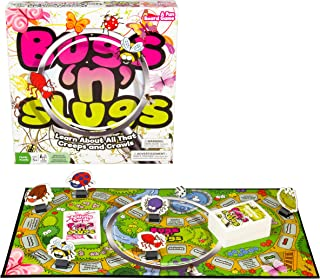 Outset Media Educational Board Game - Bugs N' Slugs - Learn About All That Creeps and Crawls