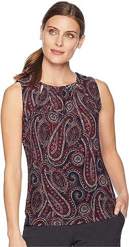 Paisley Bead Neck Knit