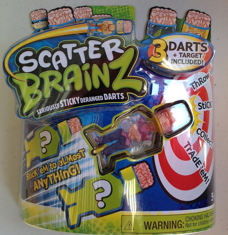Scatter Brainz 3 Pack of Darts Gleeky Fawcett & 2 Mystery Darts