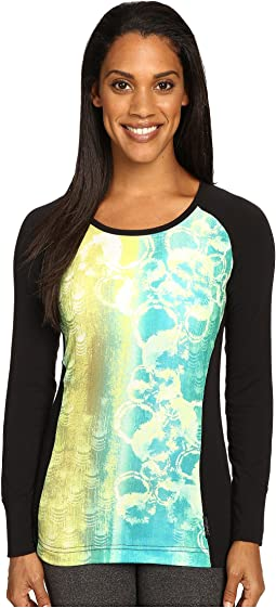 MTF Sublimated Print Scoop Neck Top