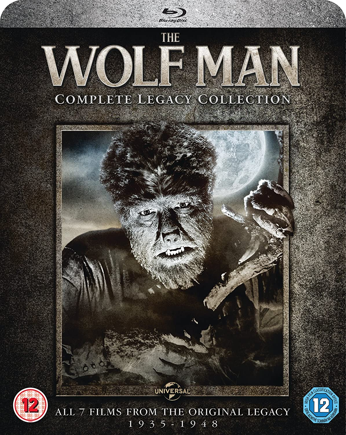 The Wolf Man: Complete Legacy 2017 Blu-ray NEW New Orleans Mall BD Collection