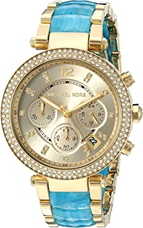 Michael Kors Women's Parker Gold-Tone Watch MK6364