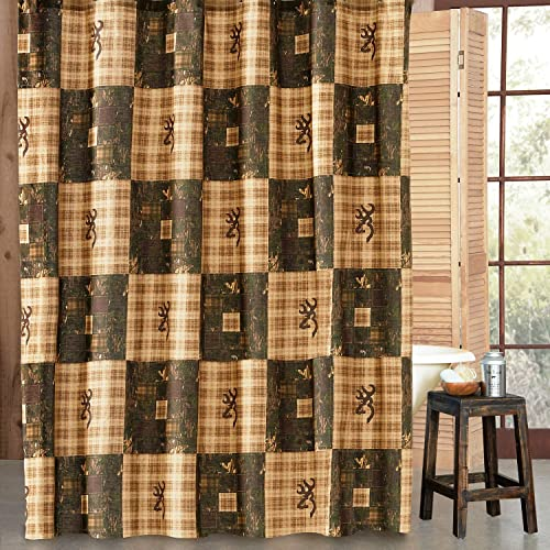 Charmant Browning Country Shower Curtain