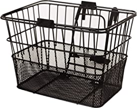 Retrospec Bicycles Detachable Steel Half-Mesh Apollo Bike Basket with Handles