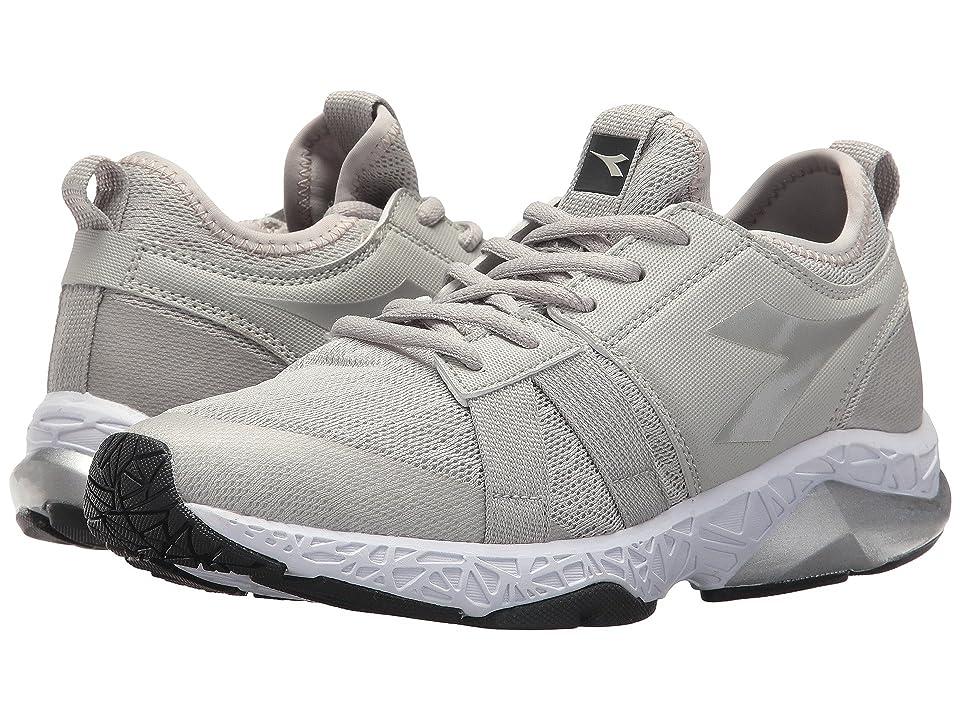 Diadora X Run Evo (Aluminium/Dark Smoke) Women's Shoes