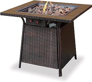 Endless Summer, GAD1001B, LP Gas Outdoor Firebowl with Tile Mantel