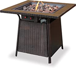 Best uniflame steel propane fire pit table Reviews