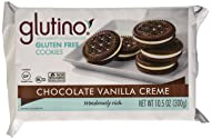 Glutino - Gluten Free Dream Cookies Chocolate Vanilla Creme 10.5 OZ