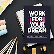 PLANNER NOTEBOOk SLOGAN version is a new innovative Notebook product. Cover: Luxurious black, strong. Used to make plans every day. Size:6*9 (inch), 200 pages