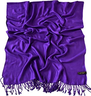 Solid Color Design Nepalese Tassels Shawl Scarf Wrap Stole Throw Pashmina CJ Apparel NEW